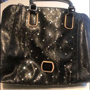Beautiful Guess Designer Handbag Black